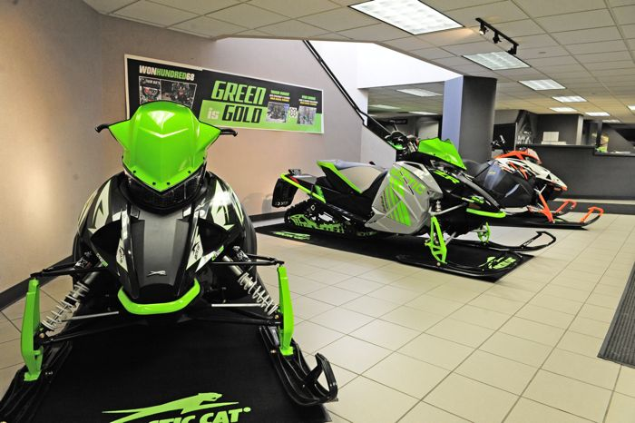 An October trip to Arctic Cat in Thief River Falls. Photo by ArcticInsider.com