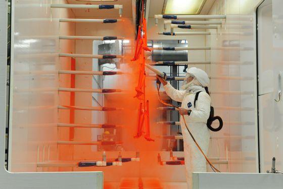Arctic Cat's new paint line. Photo by ArcticInsider.com