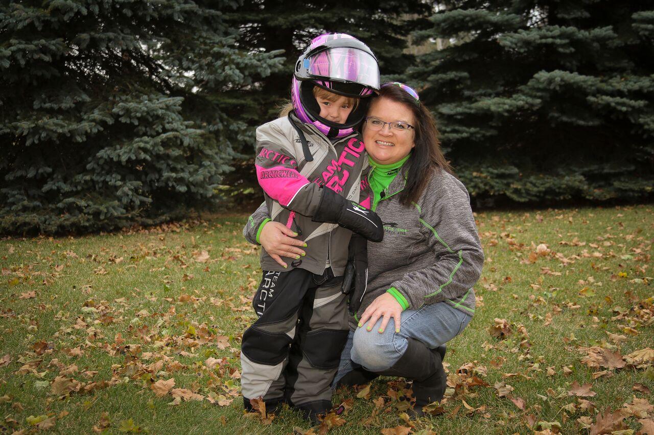Sunshine Oelfke and her grandma Jackie. Two beautiful hearts.