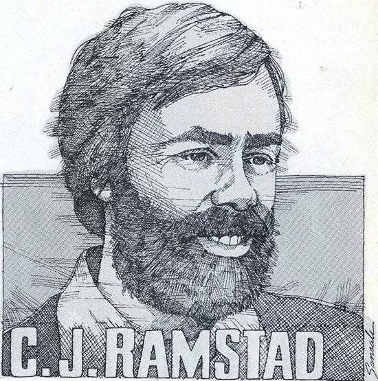 C.J. Ramstad, snowmobile journalist in heaven.