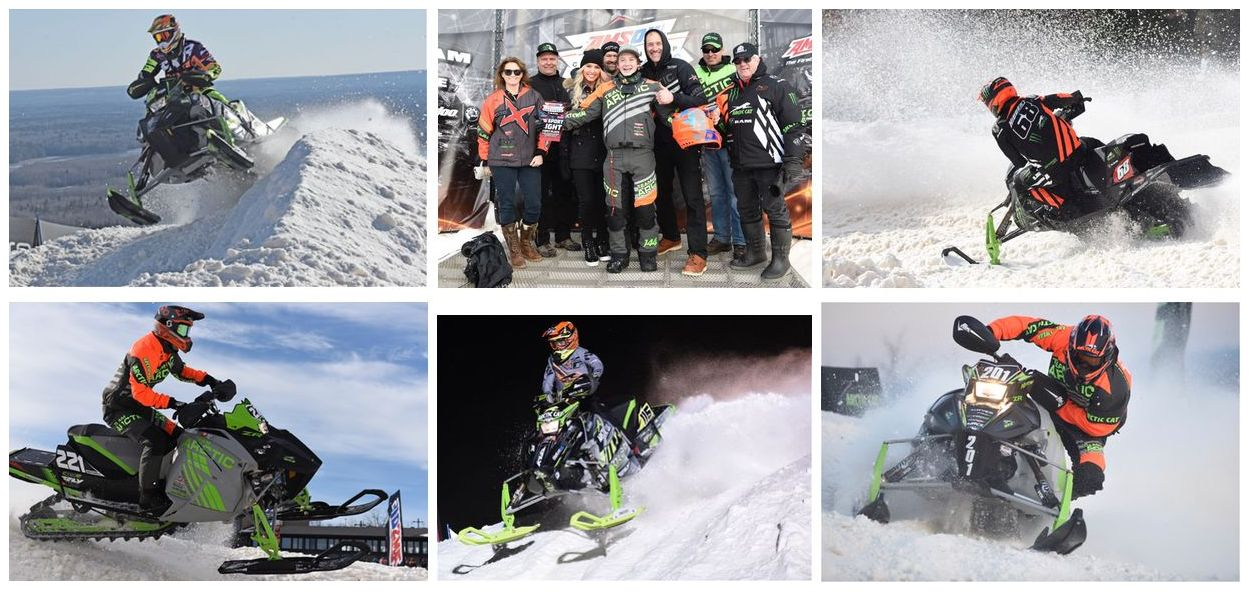 Team Arctic Cat and ZR 6000R SX wins ISOC Duluth Snocross. ArcticInsider.com