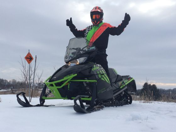 #everydaysledder, Arctic Cat and riding snowmobiles every day for a month. ArcticInsider.com
