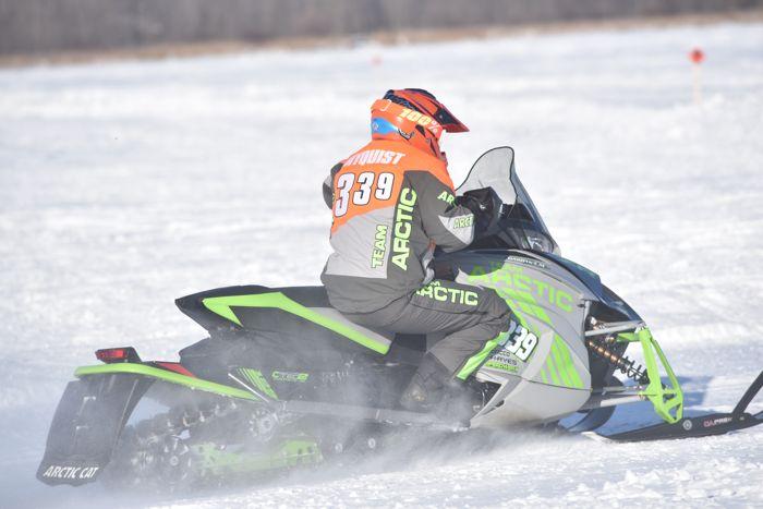 Team Arctic's Morgan Nyquist wins at Pine Lake.