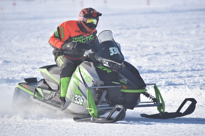 Team Arctic's Nicholas Nyquist wins TWICE at Pine Lake.