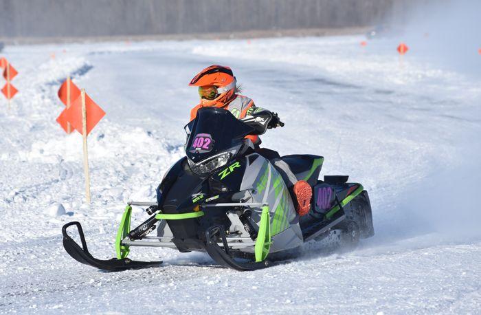 Team Arctic's Savannah Landrus wins Pro Women at Pine Lake.