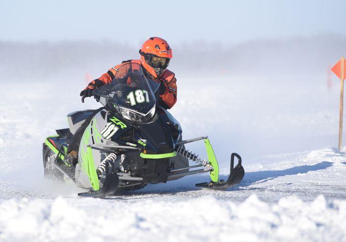 Team Arctic's Tyler Knutson wins at Pine Lake.