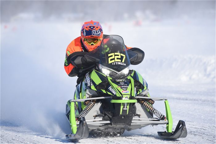 Team Arctic's Tyler Oettinger wins I-500 Class at Pine Lake.
