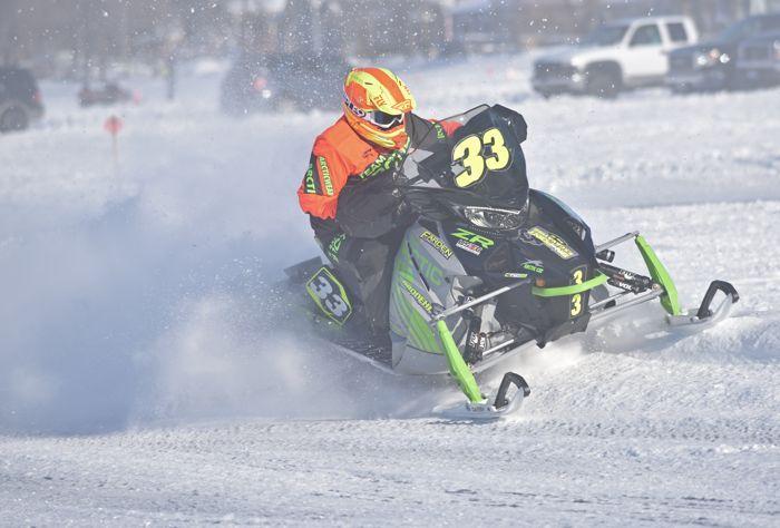 Team Arctic's Brian Brodehl won two finals at USXC Pine Lake.