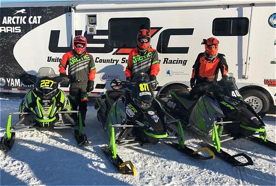 Team Arctic sweep of Semi Pro at Pine Lake.