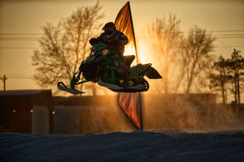ERX Eliminator snocross racing