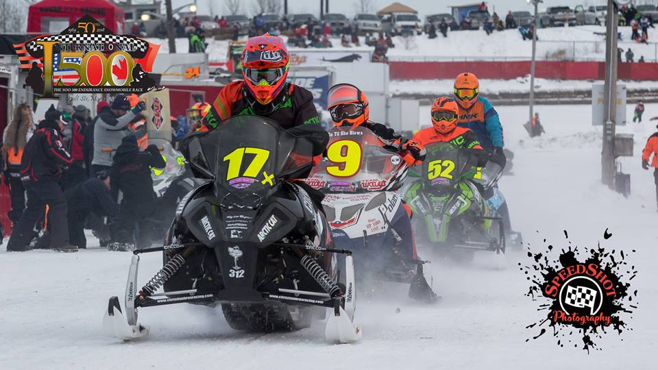 Team Arctic Cat Zach Herfindahl and Wes Selby win 2018 Soo 500.