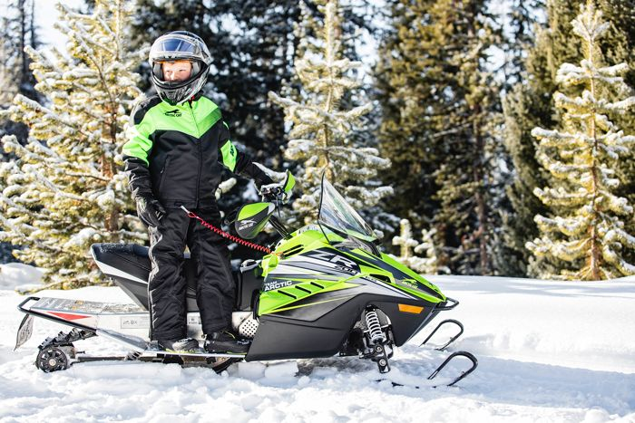 2019 Arctic Cat ZR 200 ES with Electric Start