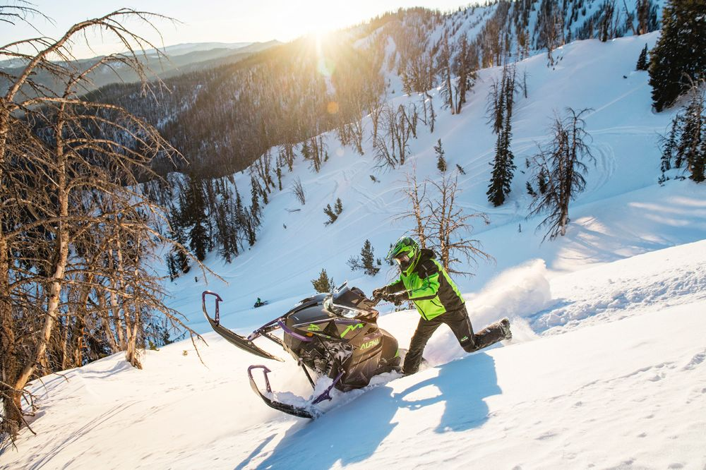 2019 Arctic Cat ALPHA ONE System will change the mountain game.