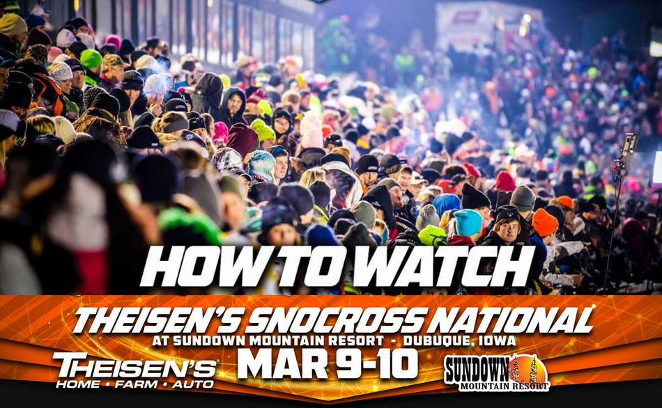 ISOC Snocross Livestream Dubuque Iowa like an ArcticInsider Yo!