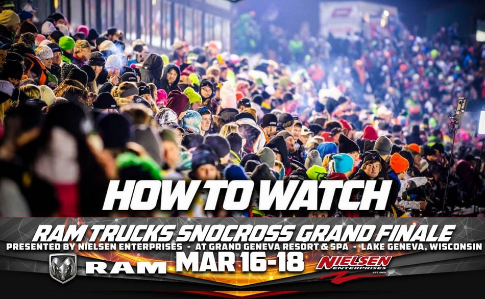 ISOC National Snocross Livestream from Lake Geneva by ArcticInsider.com