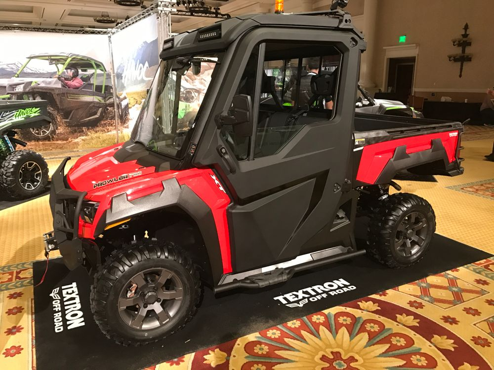 2018 Prowler PRO from Textron Off Road.