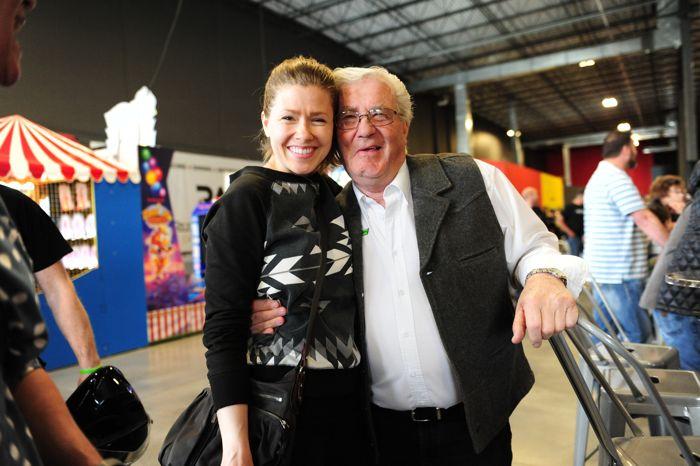 Mandi Hibbert and Roger Skime