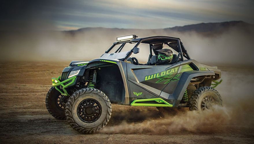 Wildcat XX Ride Over Everything Baja Giveway from Textron Off Road.