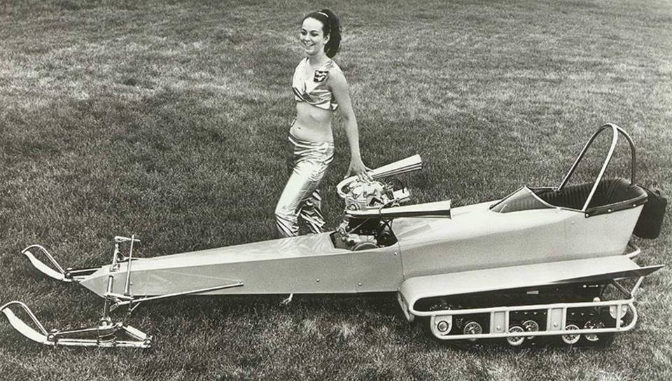 TGIF and the snowmobile lovelies