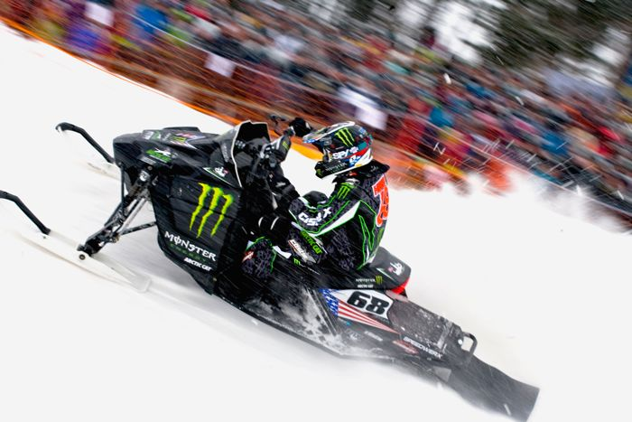 Tucker Hibbert wins the 2010 FIM World Championships. Arctic Cat. Monster. Photo by Joni Launonen.