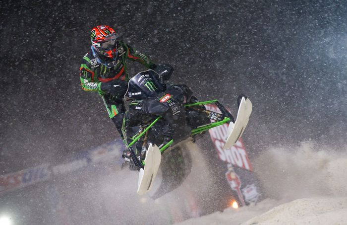 Tucker Hibbert wins his 100th Pro National in Deadwood in 2015. Photo by John Hanson.