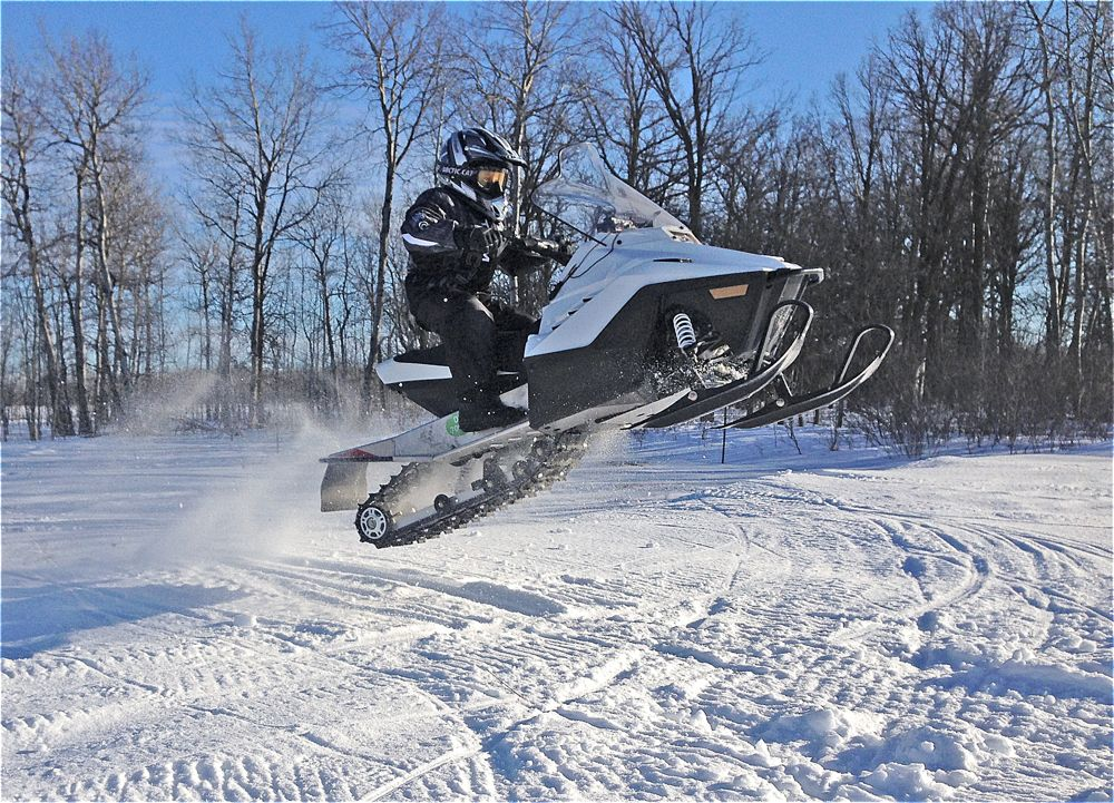 Finding some air time on a ZR 200.