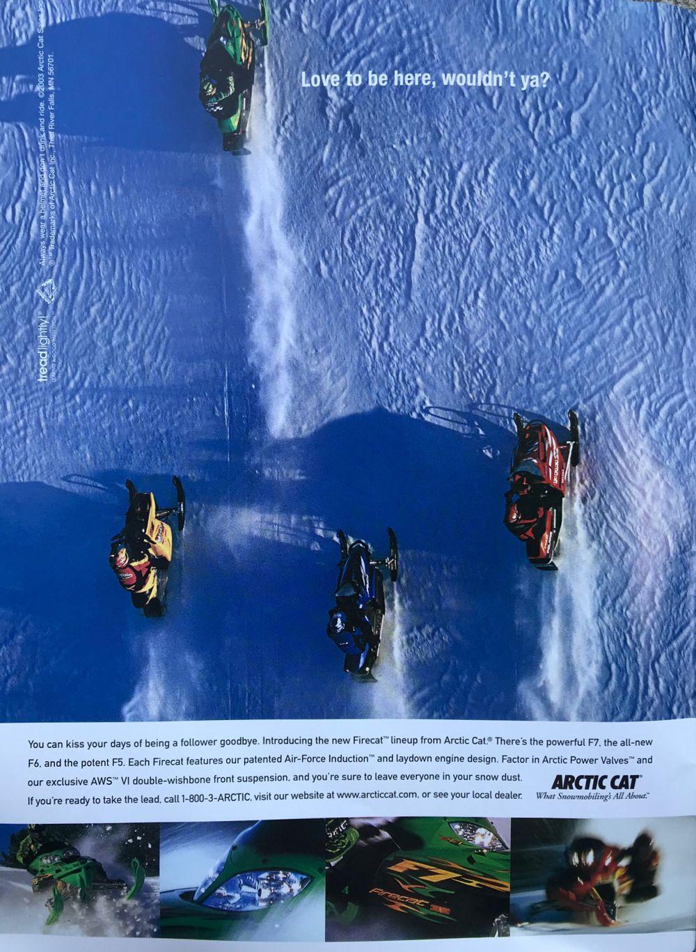 Arctic Cat Firecat F7 was a true rocketship.