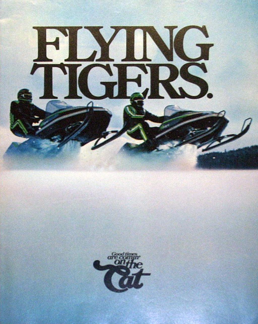 Arctic Cat Flying Tigers, el tigre.