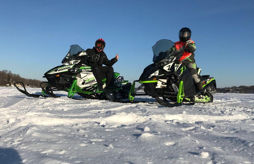 2018 Arctic Cat ZR 8000 Limited sled review by ArcticInsider.com