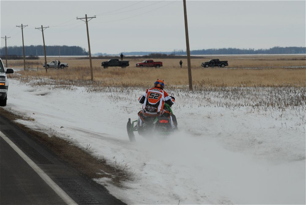 Team Arctic Cat's DJ Ekre, 2010 USCC I-500, photo by ArcticInsider.com