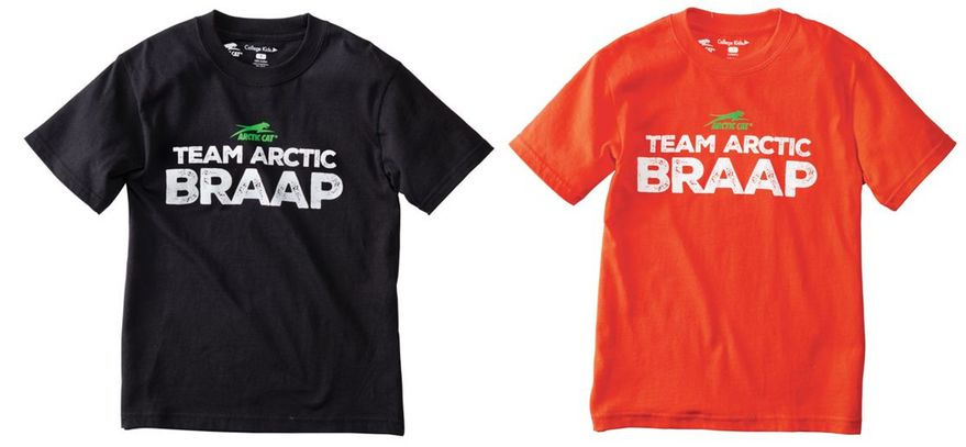 Youth Team Arctic Braap T-shirt from Arctic Cat