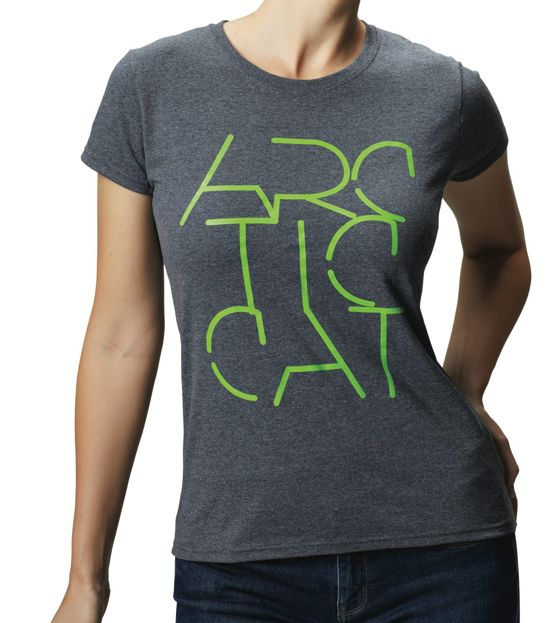 Women's Stencil T-Shirt from Arctic Cat