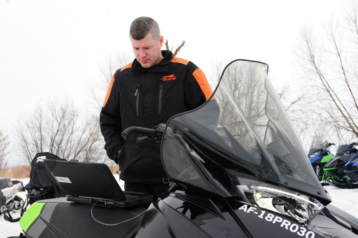 Ryan Hayes, Arctic Cat 2-Stroke Engine Powertrain Manager.