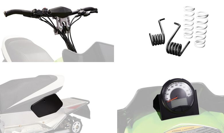 Arctic Cat ZR 200 accessories.