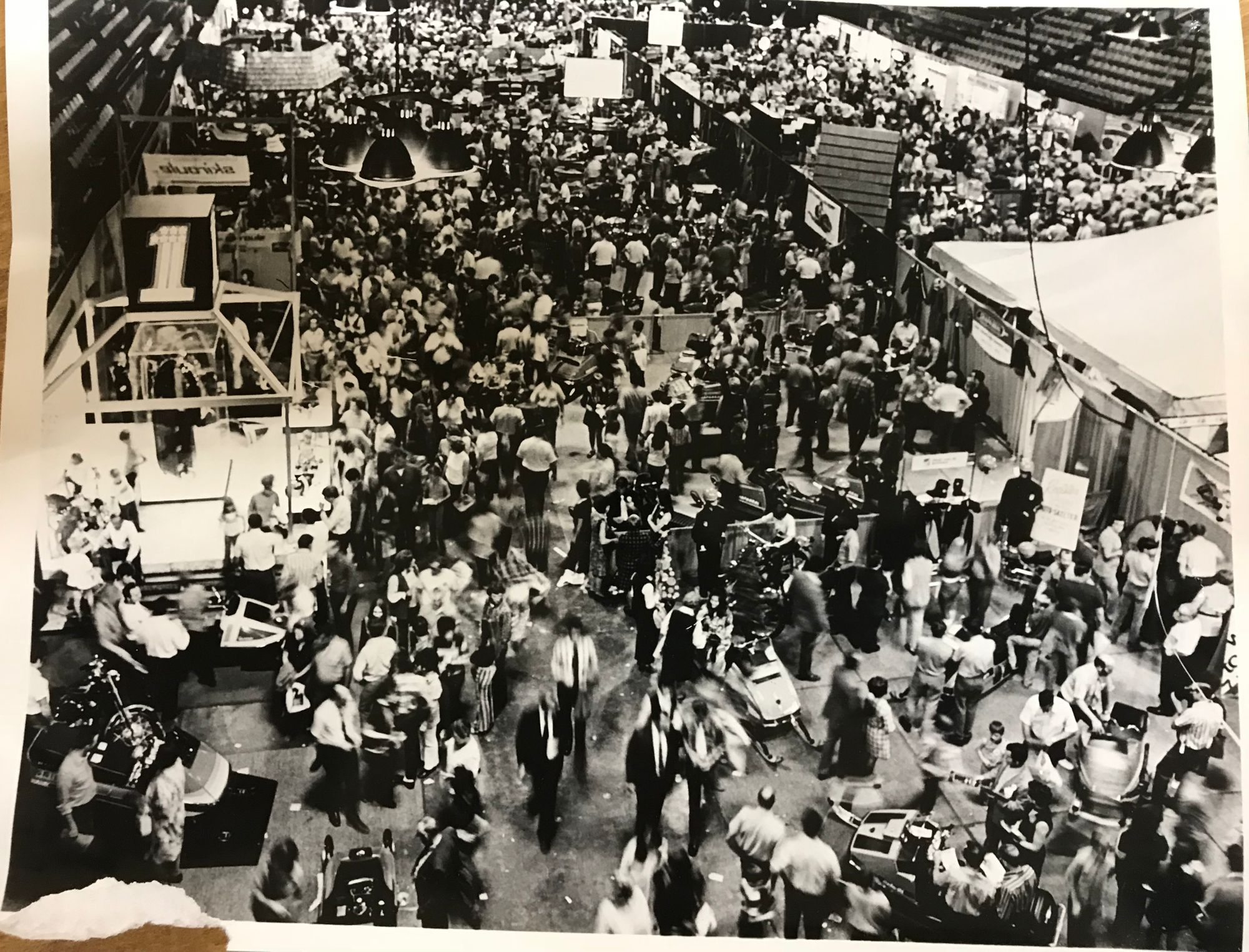 1970 Wisconsin Snowmobile Show.