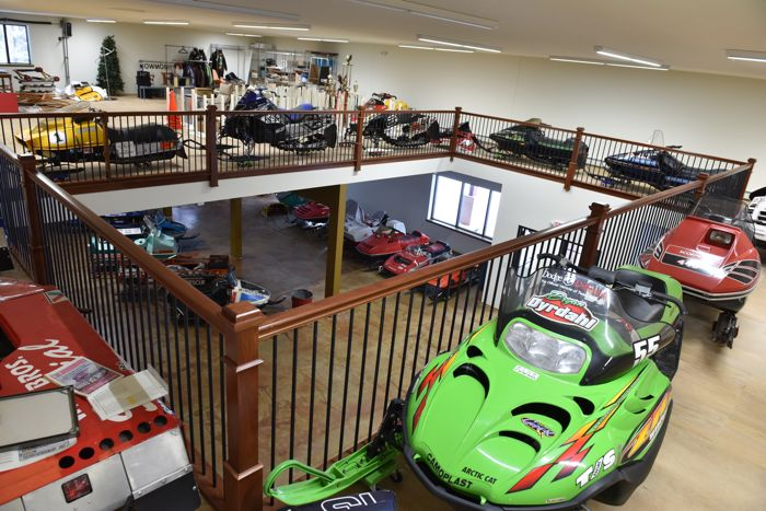 Snowmobile Hall of Fame. New Building. Photo by ArcticInsider.com