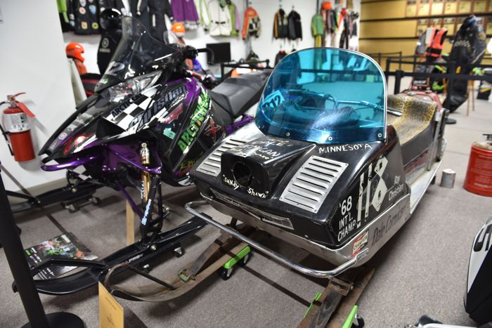 Dale Cormican and Zach Herfindahl's I-500 Arctic Cat race winners. Photo by ArcticInsider.com