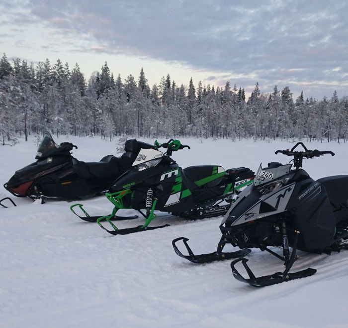 May the snow be with you, from Erik J. in Sweden.