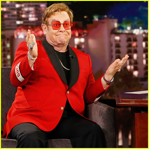 Elton John Snowmobile