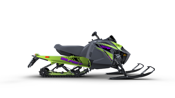 2021 Blast ZR 4000 midsize chassis with single-cylinder 397cc C-TEC2 engine