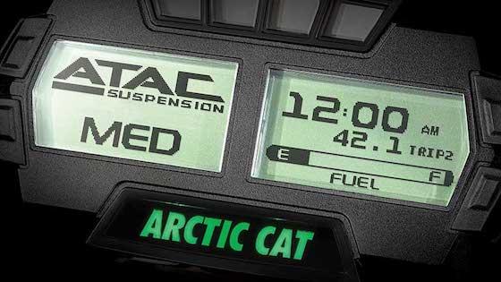 ATAC Digital Gauge on M 8000 Mountain Cat