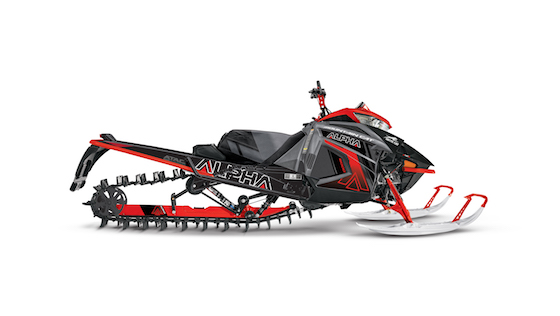 2021 Mountain Cat Alpha One Fire Red/Dynamic Charcoal