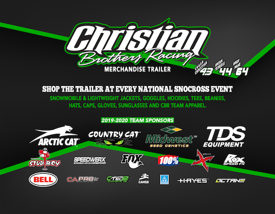 CBR Sponsors and Merch Trailer