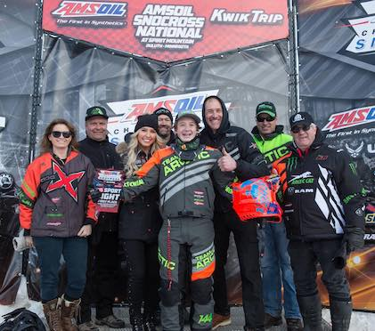 Anson Scheele #144 always smiling! Look for him in the CBR Pro Lite trailer with Andy Pake