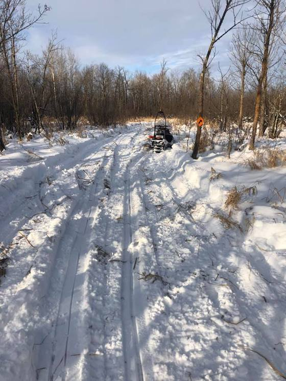 Enjoy the trails this winter and remember the hardwork put into every mile