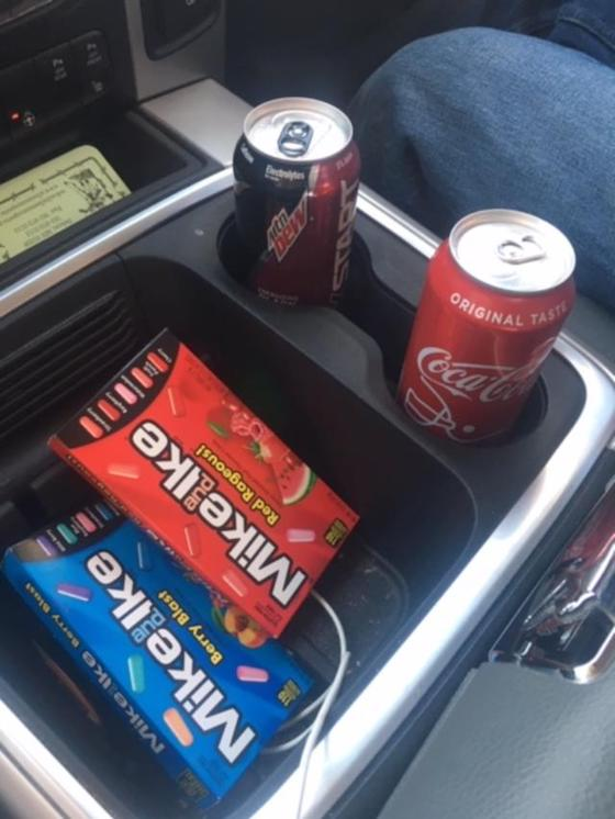 Every ArcticInsider road trip starts and ends with a couple boxes of delicious Mike and Ike Candies!