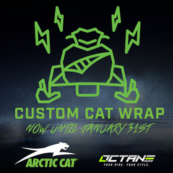 Enter to get a custom Cat Wrap for your 2021 from Octane Ink