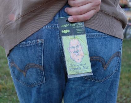 Jesse Venture butt freshner