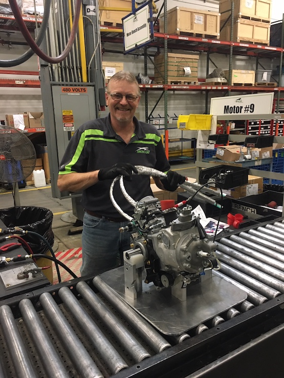 Tim Johnson assembles the new single-cylinder Blast Engine