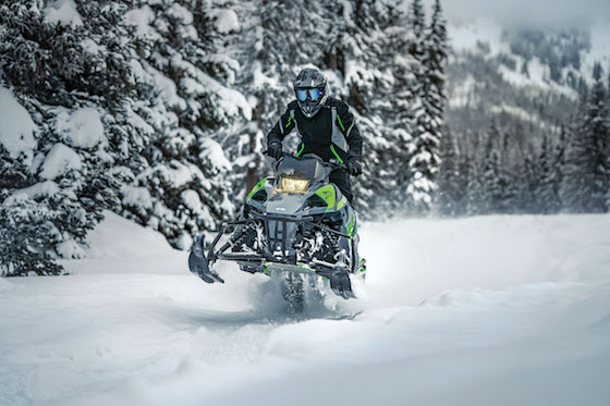The Blast ZR and its right-sizing is the ultimate fun sled in my opinion. Smiles for days due to its lightweight playful nature.